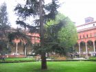 miniatura One of the inner yards (a former cloister) of Università Cattolica in Milan.